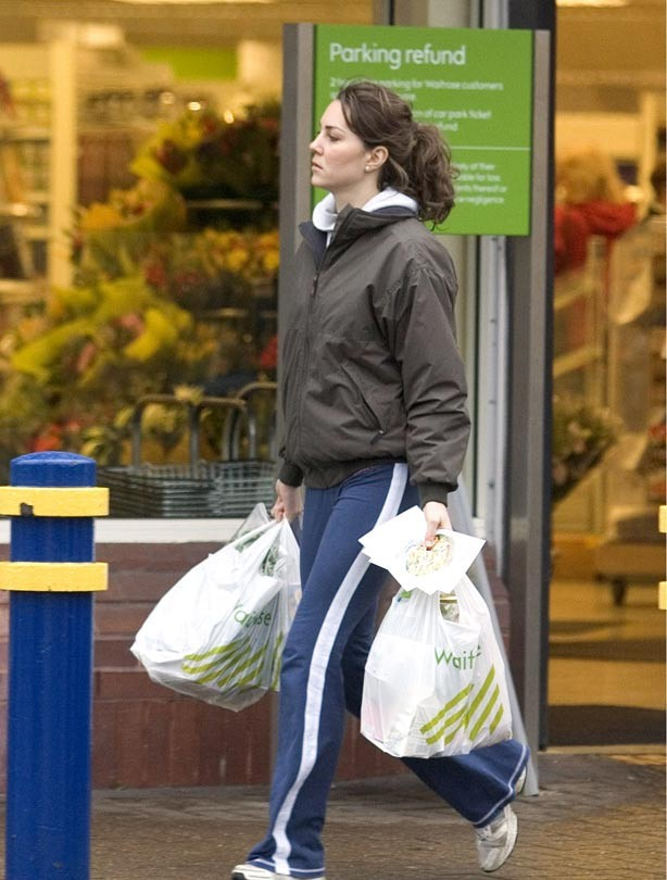 Kate Middleton shopping at Waitrose