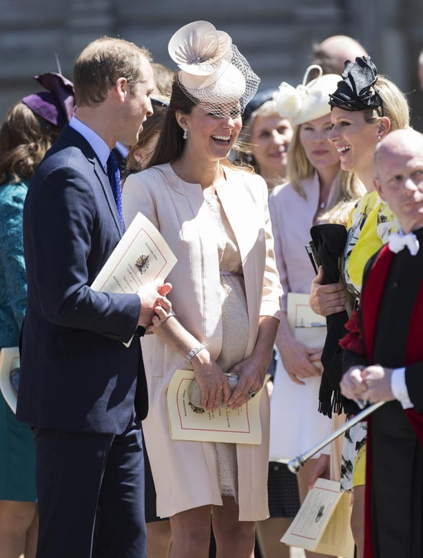Prince William, Kate Middleton and Zara Phillips