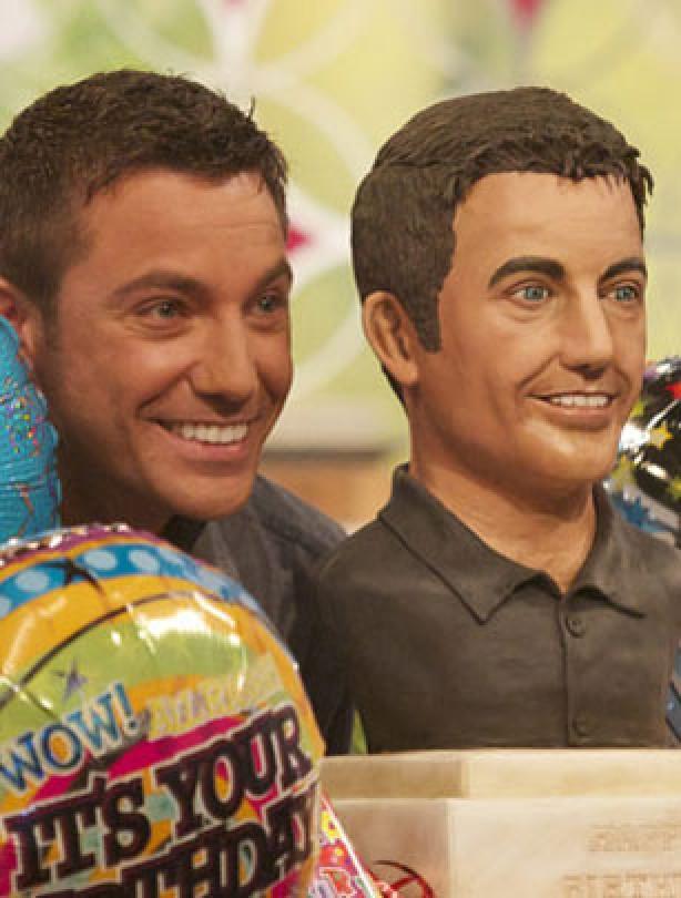 Gino D'Acampo's birthday cake
