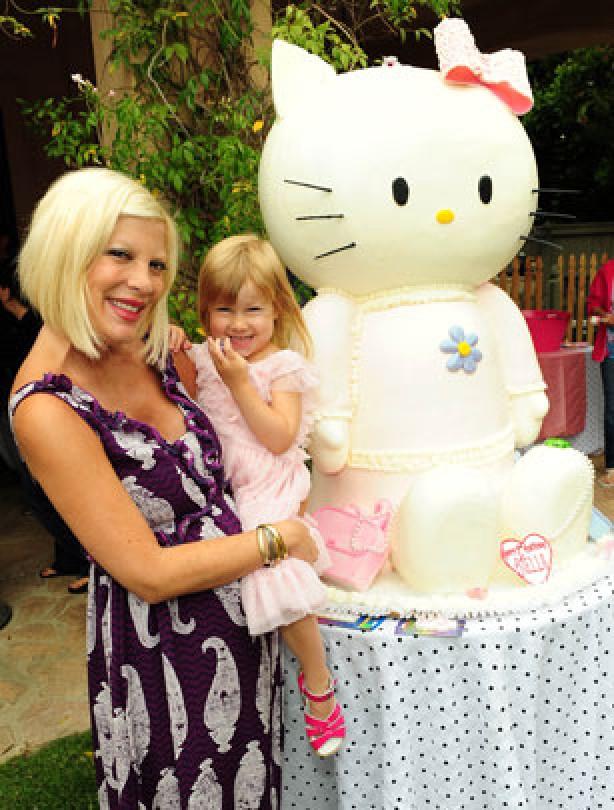 Celebrity birthday cakes