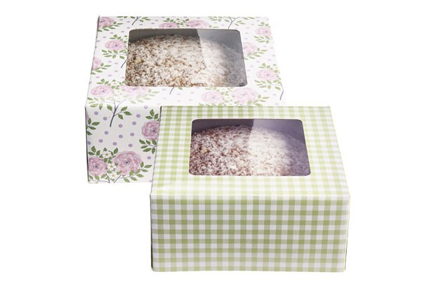 Cake packaging: cake boxes, gift wrap ideas and more