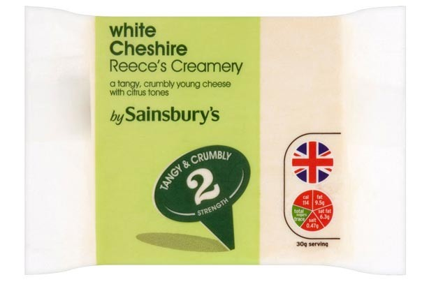 Sainsbury's white Cheshire