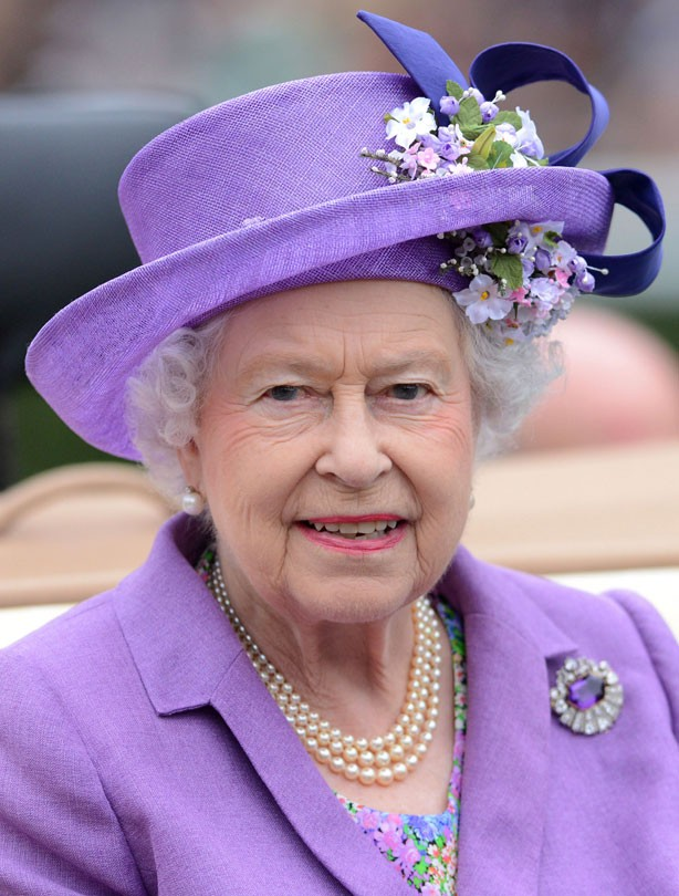 The Queen at Ascot 2013