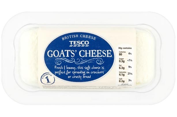 Tesco British Goats cheese