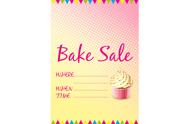 Free bake sale signs and labels - goodtoknow