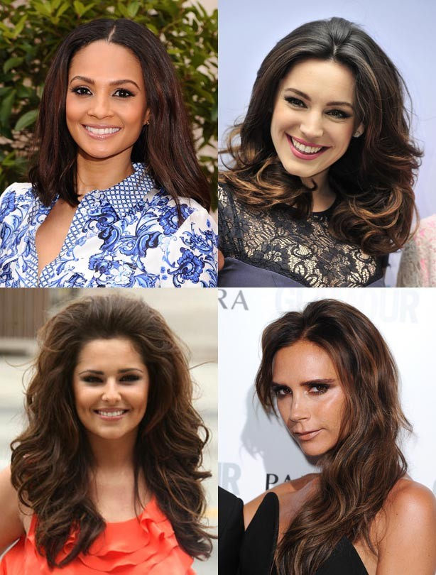 Brunettes: brown hair colours
