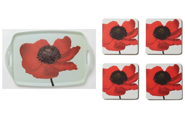 Kitchen budget tea tray_coasters