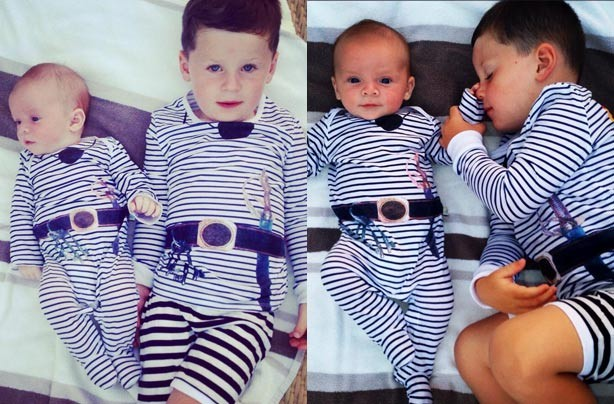 Klay and Kai Rooney
