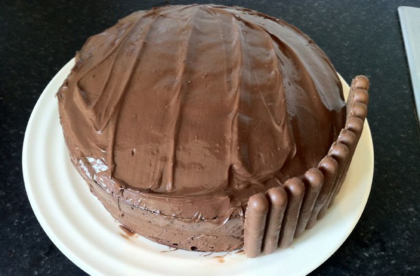 Cake With Chocolate Fingers : Cooking recipes: Chocolate fingers cake