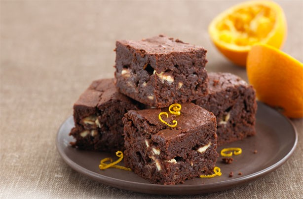 Annabel Karmel's chocolate orange brownies
