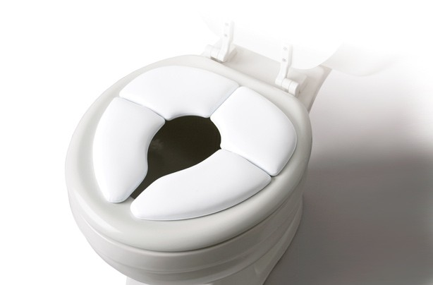 Cushie toilet training seat