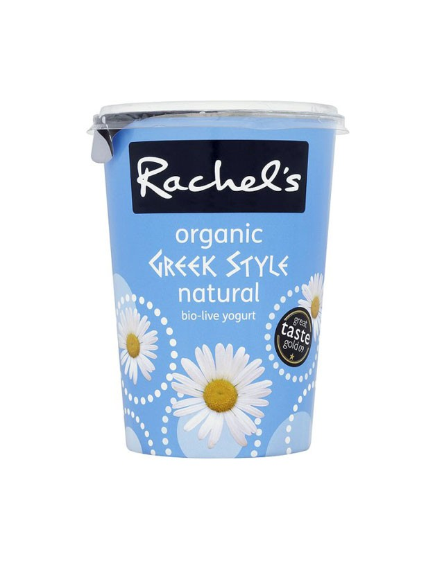 Rachel?s Organic Luxury Greek Style Bio Live Natural Set Yoghurt