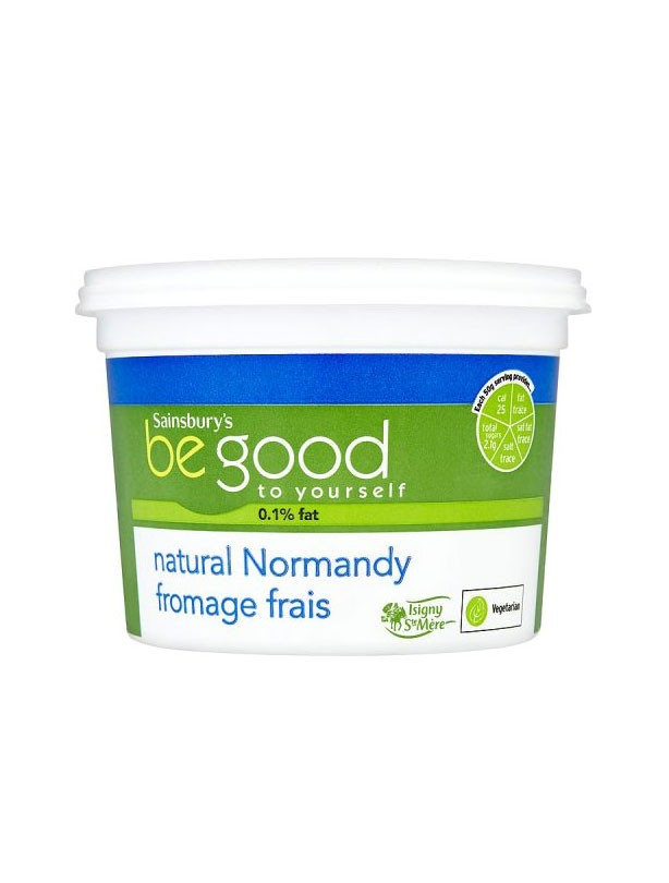 Sainsbury's Be Good to Yourself Natural Fromage Frais