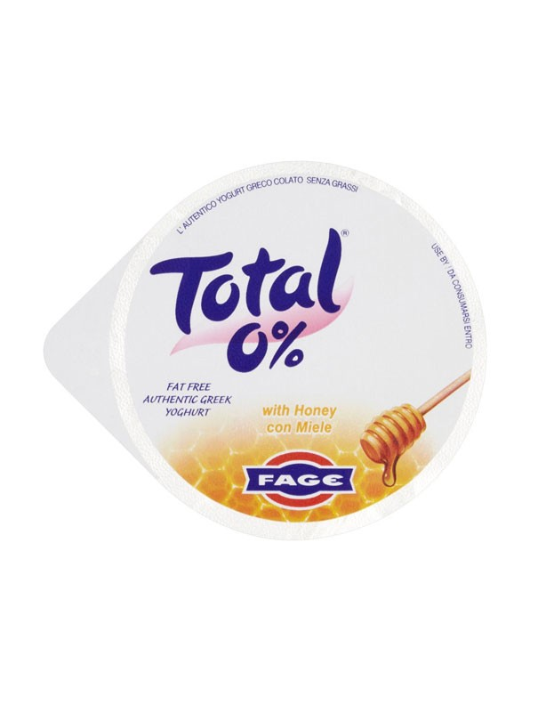 Total Greek 0% Fat Free Yogurt with Honey