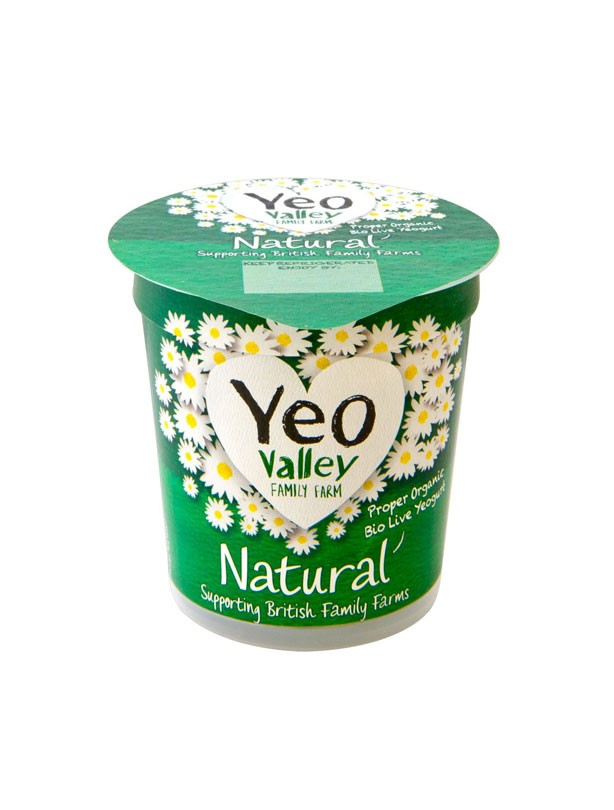 Yeo Valley Organic Natural Probiotic Yogurt