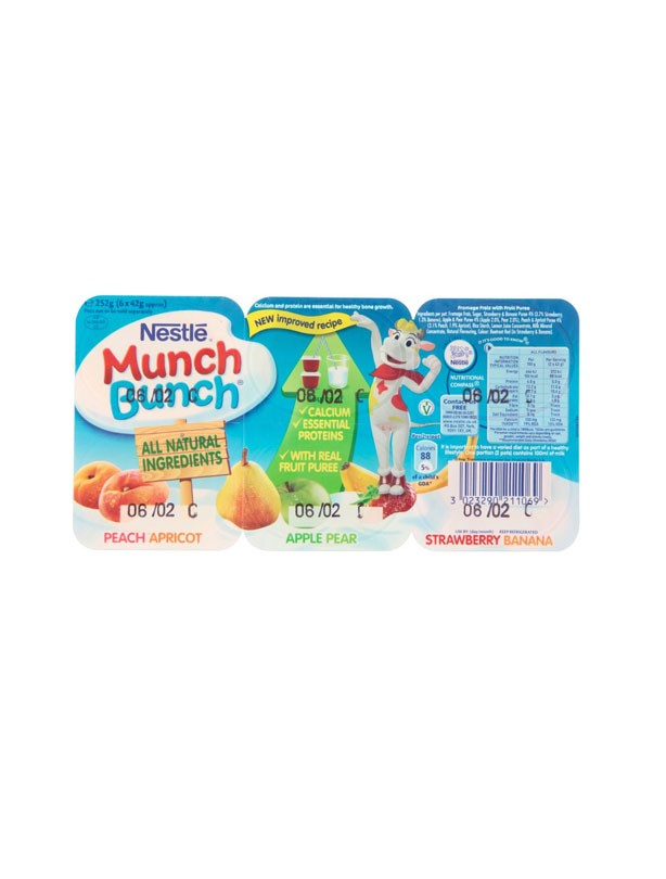 Nestle Munch Bunch Fromage Frais Variety