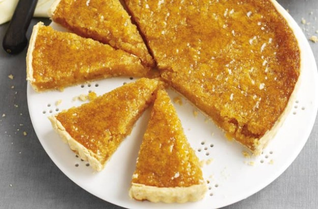 Treacle and lemon tart
