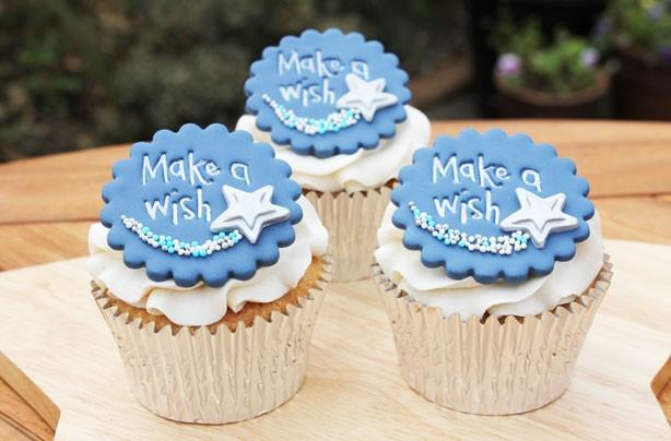 Make A Wish cupcakes