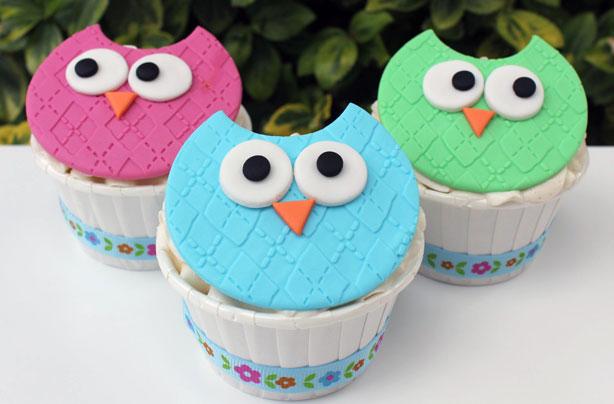Owl Cupcakes Goodtoknow