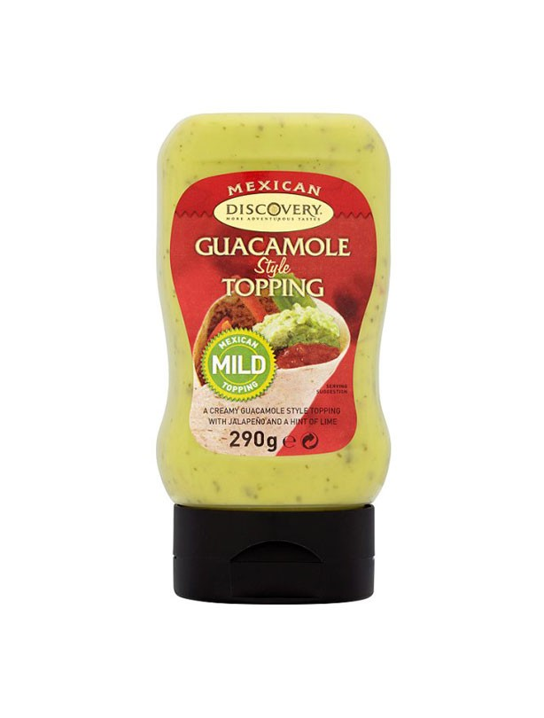 Discovery Squeezy Guacamole Dip