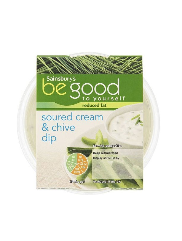 Sainsbury's Be Good to Yourself Soured Cream & Chive Dip