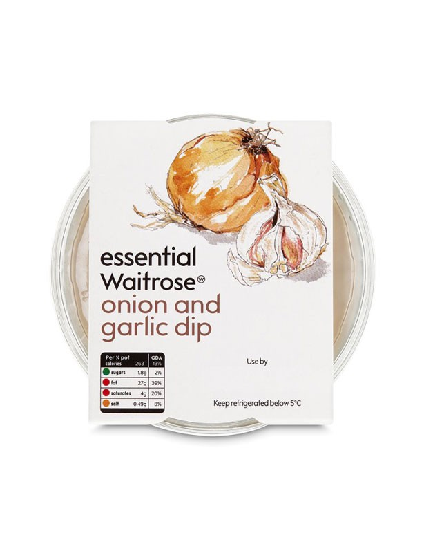 Waitrose Essential Onion and Garlic Dip