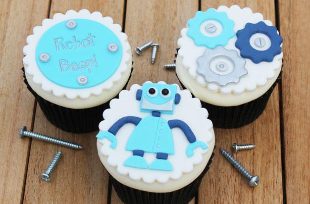 Robot Cupcakes Goodtoknow