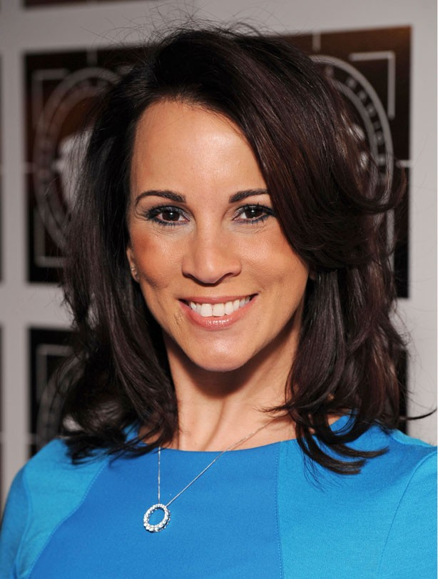 Andrea McLean: mid-length hair