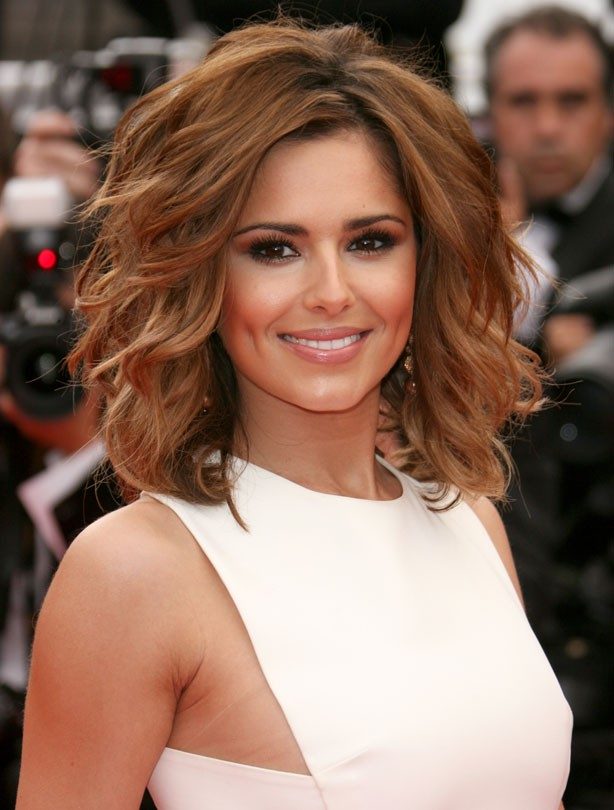 Cheryl Cole: Mid-length hair
