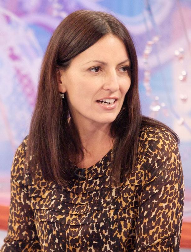 Davina McCall: Mid-length hair