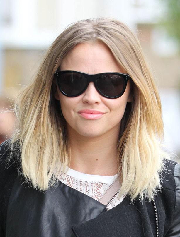 Kimberley Walsh: Mid-length hair