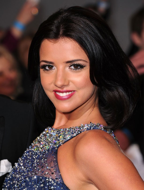 Lucy Mecklenburgh: Mid-length hair