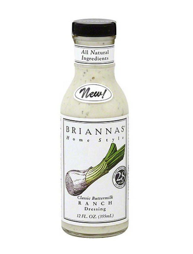 Briannas Buttermilk Ranch Dressing