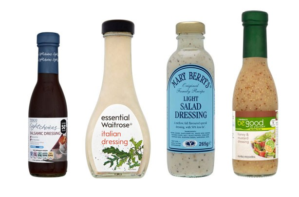 Salad Dressing: best and worst revealed!