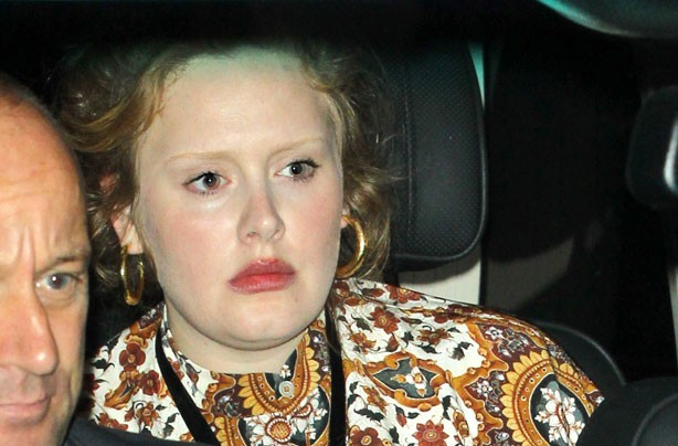 Adele no make up