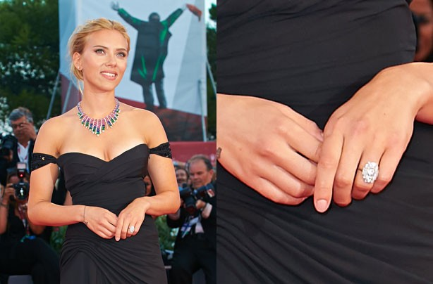 Scarlett Johannsson engagement ring