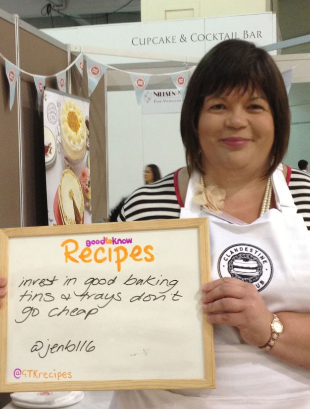 Cake and Bake Show 2013: your top baking tips!
