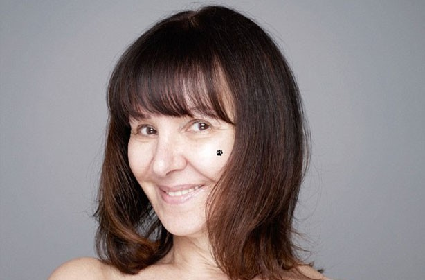 Arlene Phillips without make-up