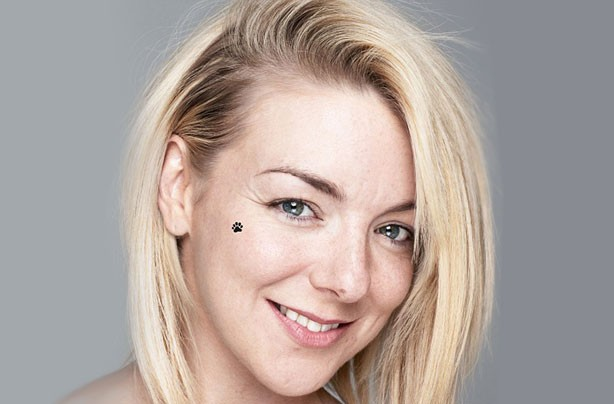 Sheridan Smith wihtout make-up