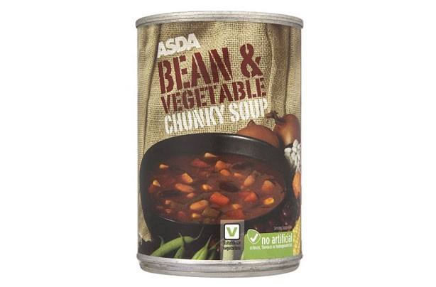 ASDA Bean & Vegetable Chunky Soup