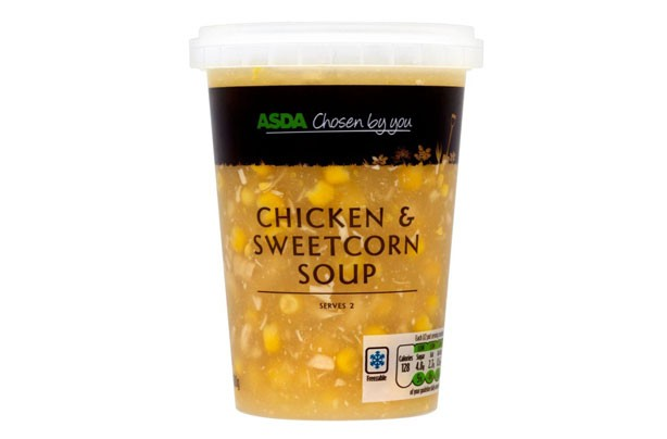 ASDA Chicken & Sweetcorn Soup