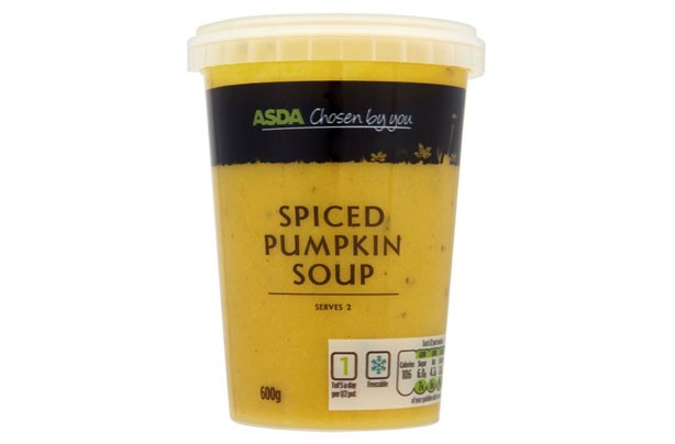 ASDA Spiced Pumpkin Soup