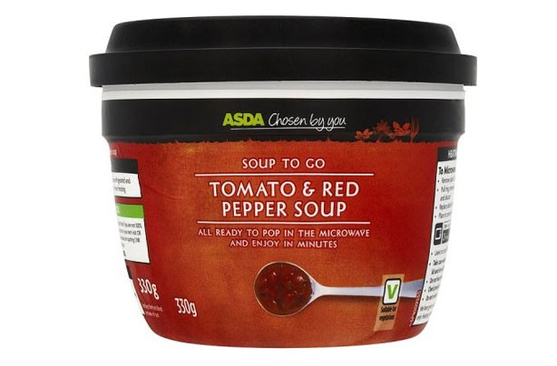 ASDA Tomato & Red Pepper Soup