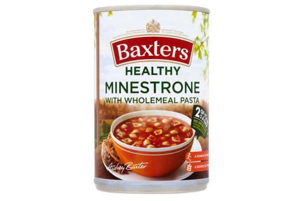 Baxters Healthy Minestrone with Wholemeal Pasta