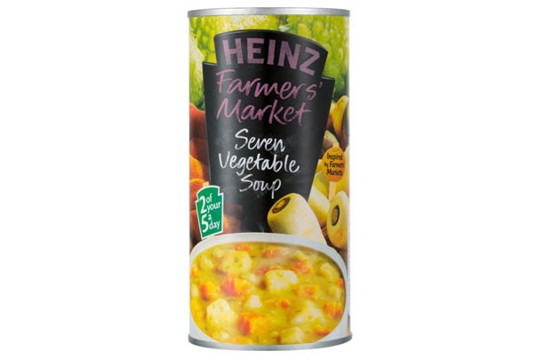 ... your diet - Heinz Farmers' Market Seven Vegetable Soup - goodtoknow