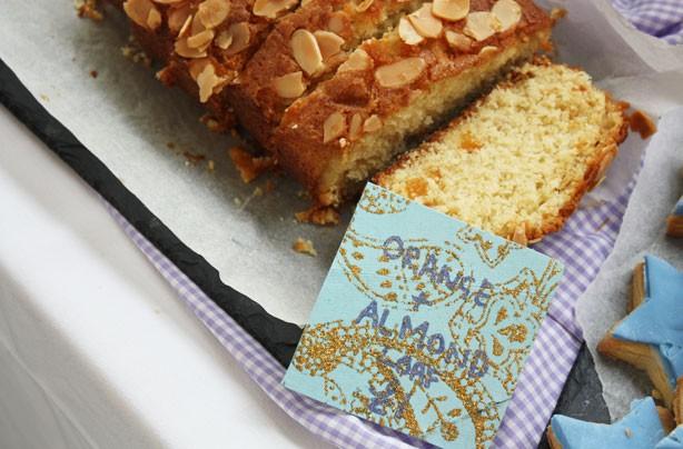 Orange and almond loaf