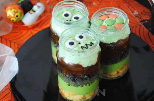 halloween recipes trifles - Gruesome Halloween Food