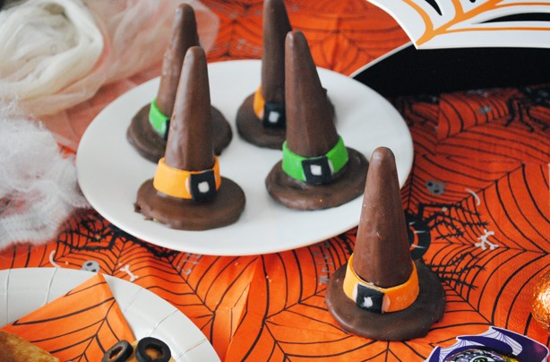 Witch's hat biscuits