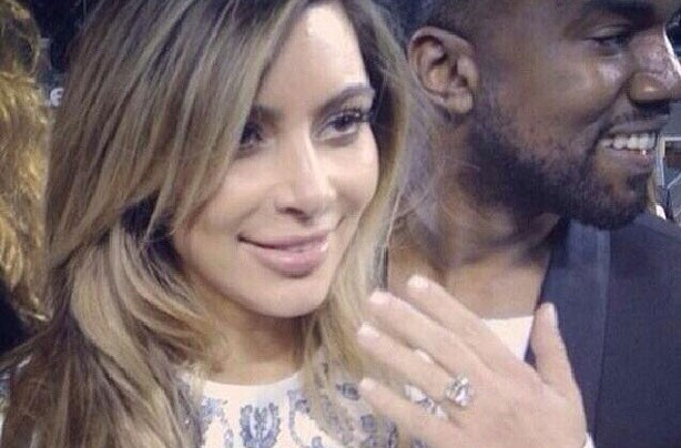 Kim Kardashian's engagement ring