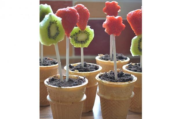 Fruit flowerpots